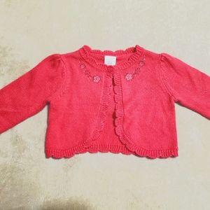 Gymboree scalloped crop sweater